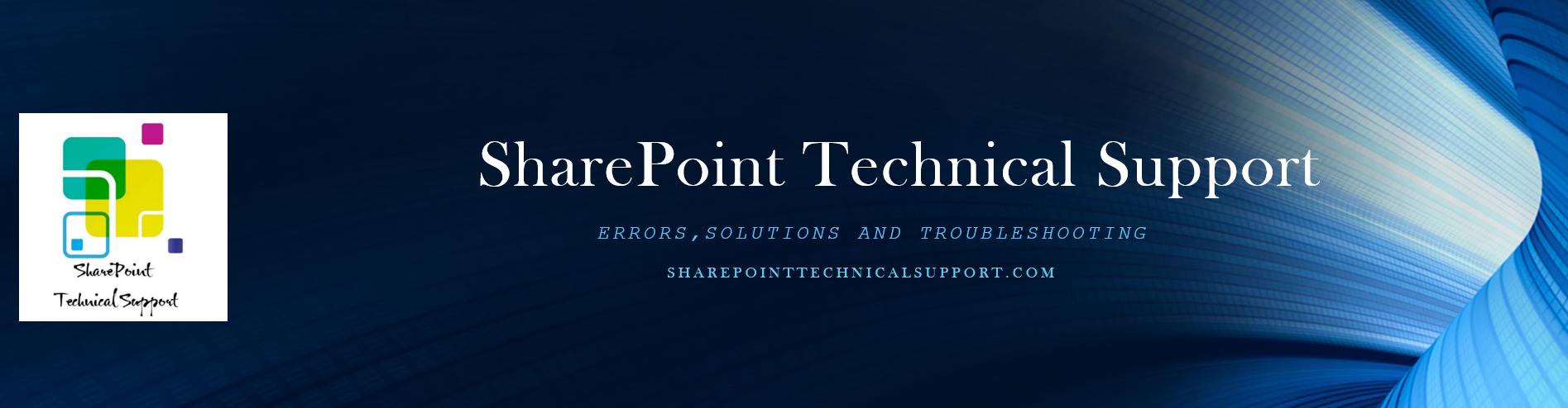 403 forbidden error fix | SharePointTechnicalSupport