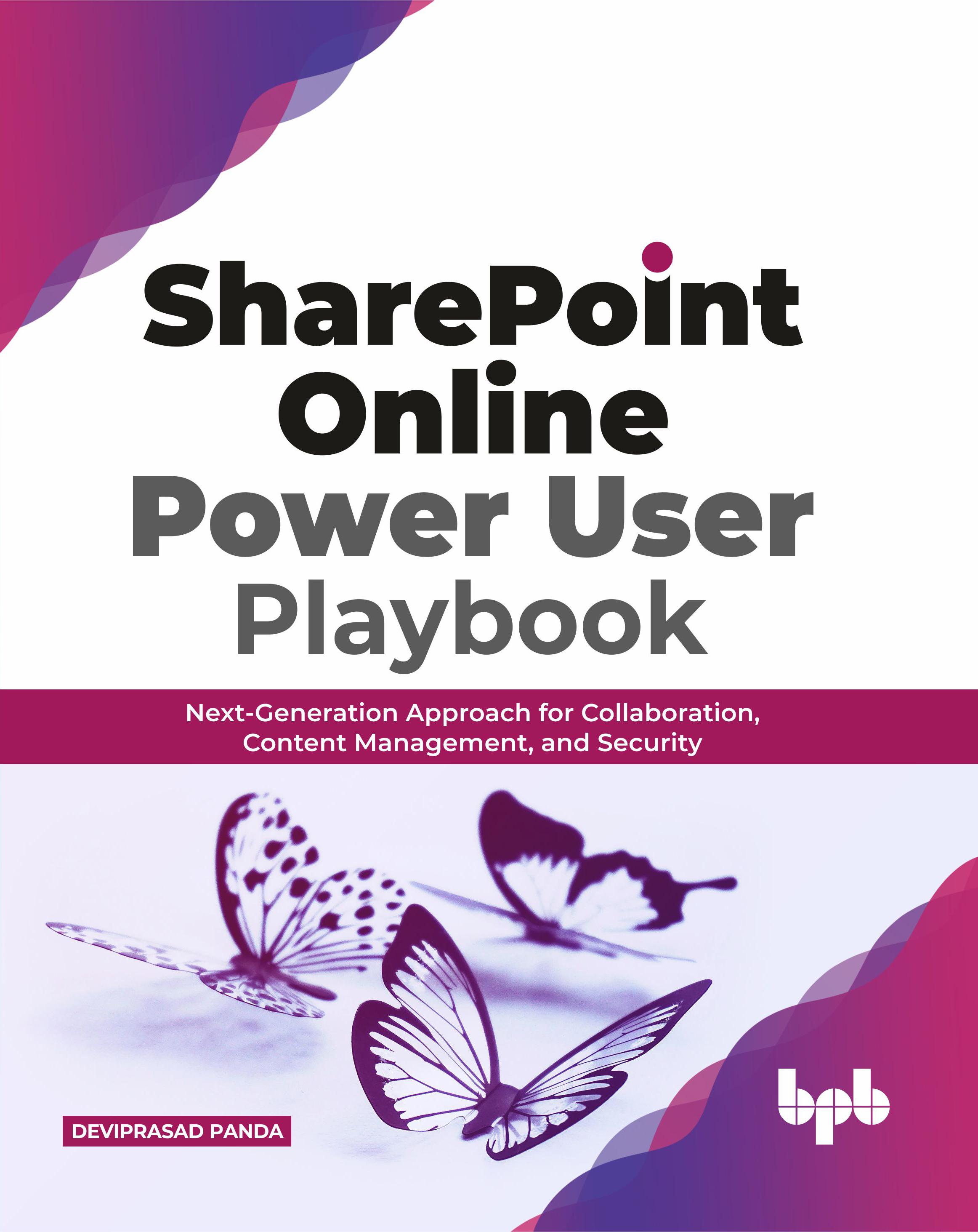 SharePoint online power user playbook